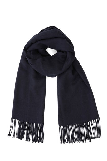 Warehouse, SOFT PLAIN SCARF Navy 0