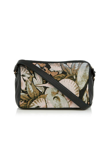 Warehouse, WOODLAND TRIPLE ZIP CROSSBODY Multi 0