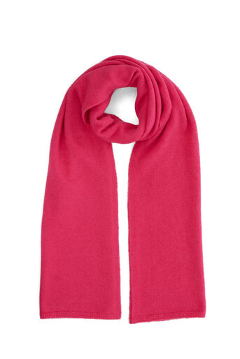Warehouse, COSY KNIT SCARF Bright Pink 0