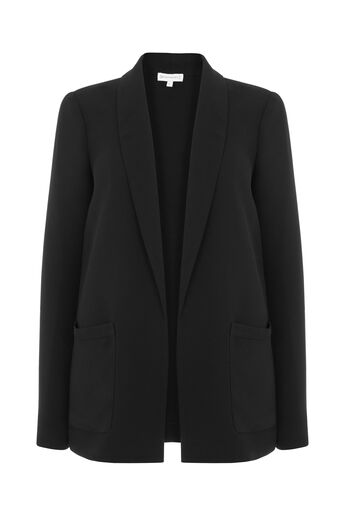 Warehouse, RELAXED FIT JACKET Black 0