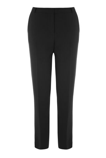 Warehouse, SLIM LEG TROUSER Black 0