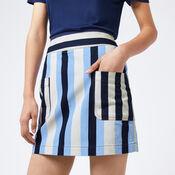Warehouse, Stripe Pelmet Skirt Multi 1