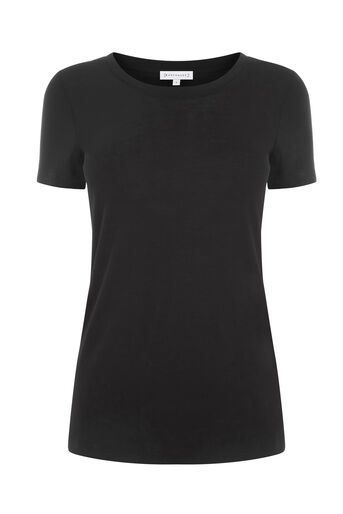 Warehouse, Net T-shirt Zwart 0