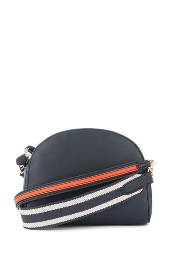 Warehouse, DOUBLE STRAP CROSSBODY BAG Black 0