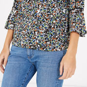Warehouse, DITSY FLORAL TOP Multi 4