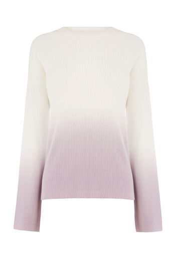 Warehouse, DIP DYE JUMPER Purple Pattern 0