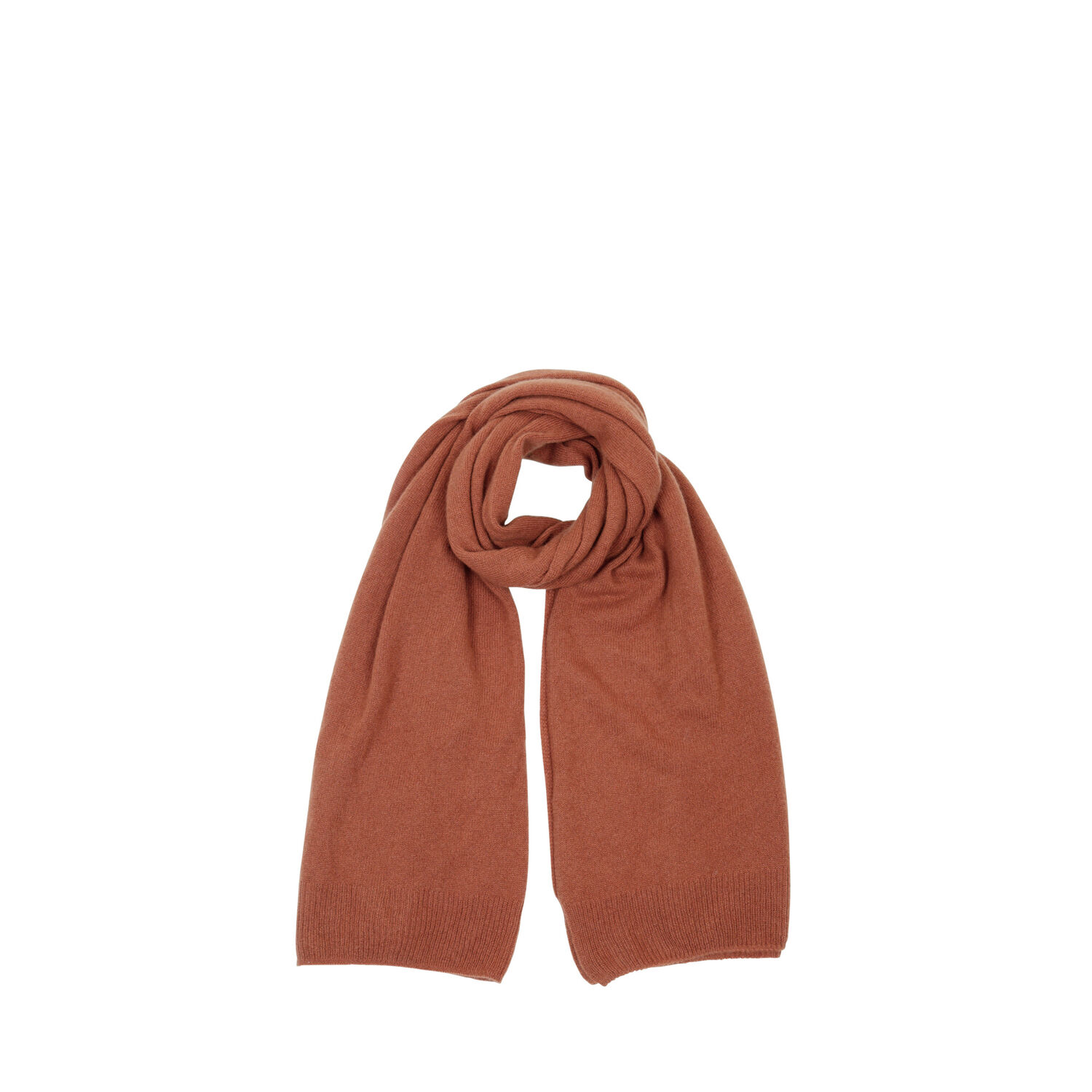 Warehouse, CASHMERE SCARF Brown 1