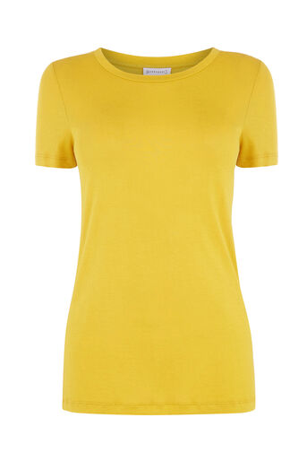 Warehouse, SMART T-SHIRT Mustard 0