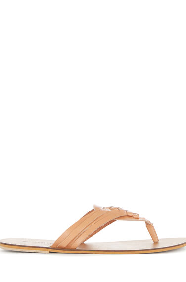Warehouse, HUARACHE TOE POST SANDAL Tan 0