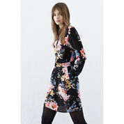 Warehouse, Garden Floral Shirt Dress Multi 4