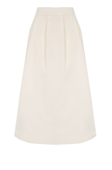 Warehouse, Dirndl Skirt Cream 0