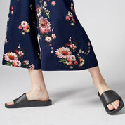 Warehouse, PAINTED FLORAL CULOTTES Multi 4