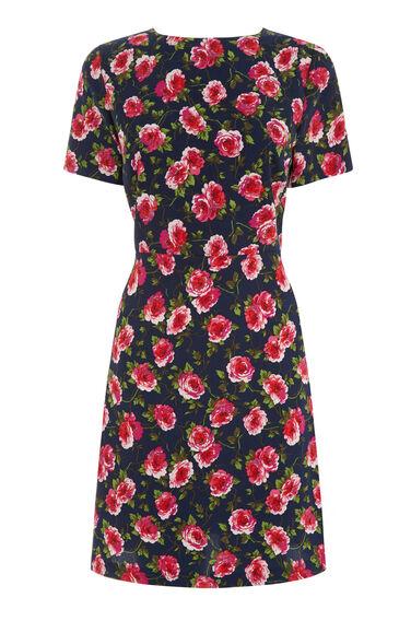 Warehouse, CLIMBING ROSA DRESS Multi 0