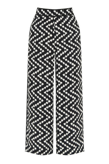 Warehouse, ZIG ZAG TROUSERS Multi 0