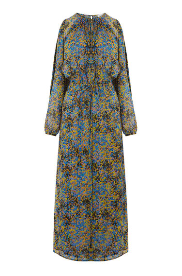 Warehouse, FLOWER BURST MAXI DRESS Multi 0