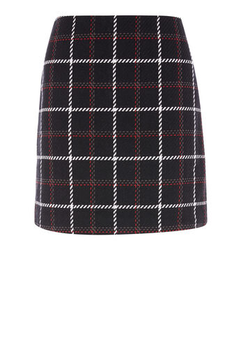 Warehouse, CHECK PELMET SKIRT Multi 0