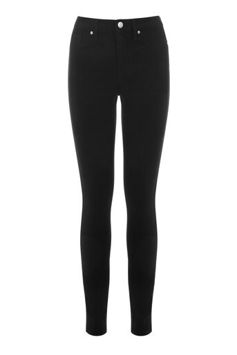 Warehouse, Ultra Skinny Cut Jeans Black 0