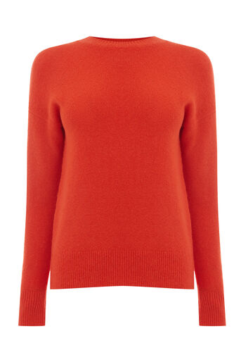 Warehouse, BOUCLE JUMPER Bright Red 0
