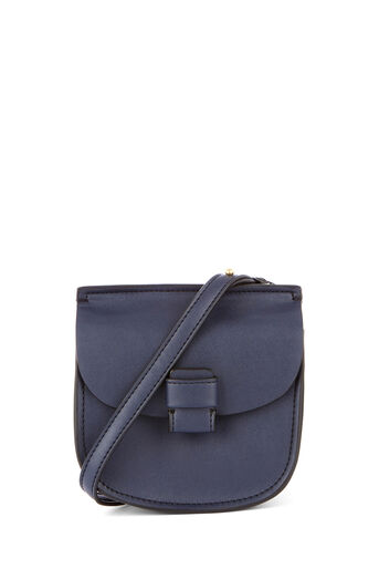 Warehouse, FOLDED TAB 2 WAY BAG Navy 0