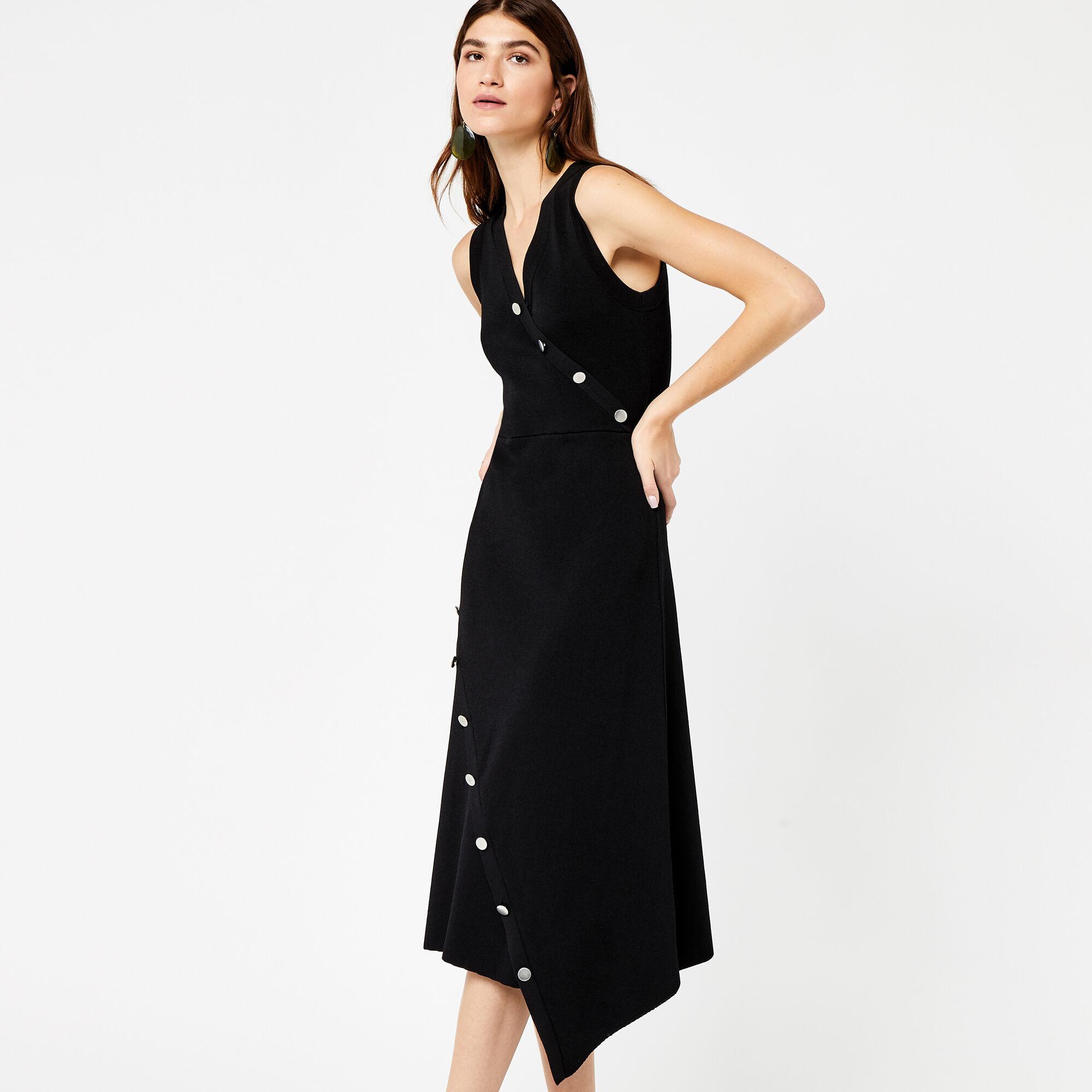 Asymmetric maxi dress