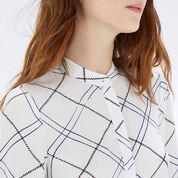 Warehouse, CHECK SPLIT SIDE SHIRT Multi 4