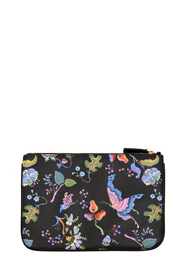 Warehouse, Printed Tablet Case Black Pattern 0