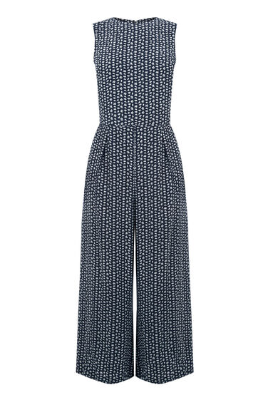 Warehouse, SQUIGGLE PRINT JUMPSUIT Multi 0