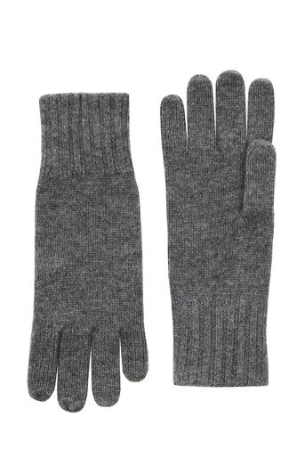 Warehouse, CASHMERE GLOVES Dark Grey 0