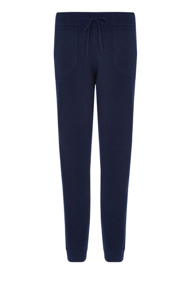 Warehouse, CASHMERE JOGGER Navy 0
