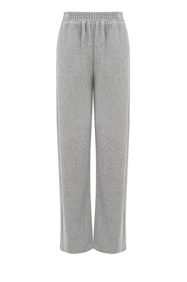 Warehouse, VELOUR TROUSER Light Grey 0