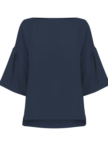 Warehouse, TIE BACK TOP Navy 0