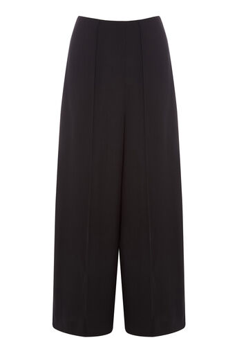 Warehouse, PINTUCK CULOTTES Black 0