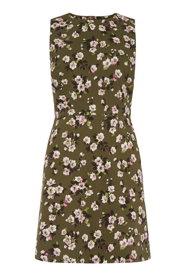 Warehouse, MAE FLORAL SHIFT DRESS Multi 0