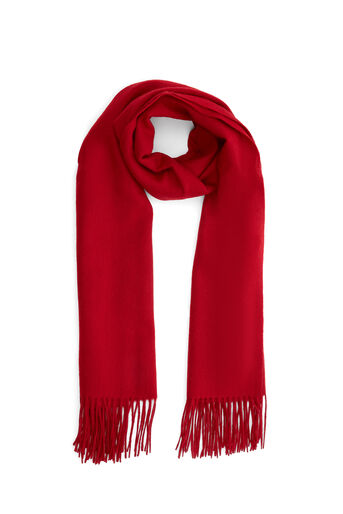 Warehouse, Wool Scarf Bright Red 0