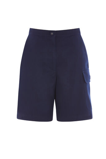 Warehouse, KNEE LENGTH SHORTS Navy 0