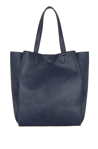 Warehouse, MAGNETIC SLOUCH WORK BAG Navy 0