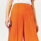Warehouse, PINTUCK CULOTTES Orange 1