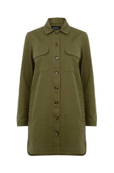 Warehouse, Four Pocket Jacket Khaki 0