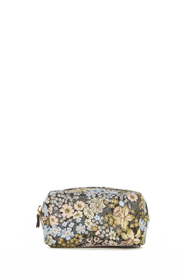 Warehouse, DAFFODIL JACQUARD MAKE UP BAG Multi 0