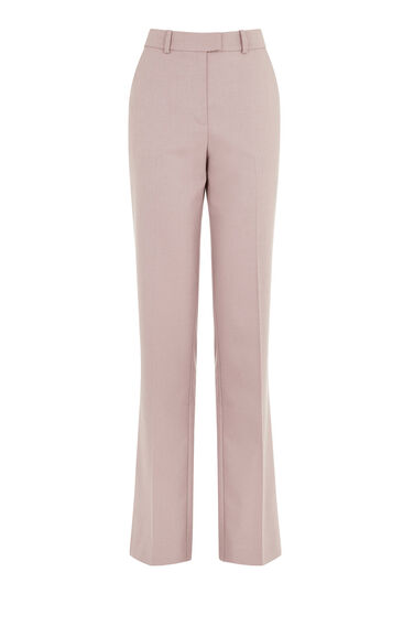 Warehouse, STRAIGHT LEG TROUSER Lilac 0