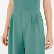Warehouse, COMPACT CREPE JUMPSUIT Bright Green 4