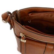 Warehouse, Tab Pocket Crossbody Bag Tan 4
