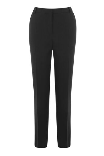 Warehouse, SLIM LEG TROUSERS Black 0