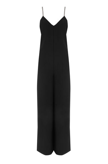 Warehouse, DIAMANTE JUMPSUIT Black 0