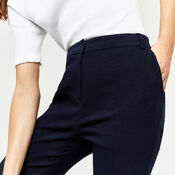 Warehouse, TEXTURED SLIM LEG TROUSER Navy 4