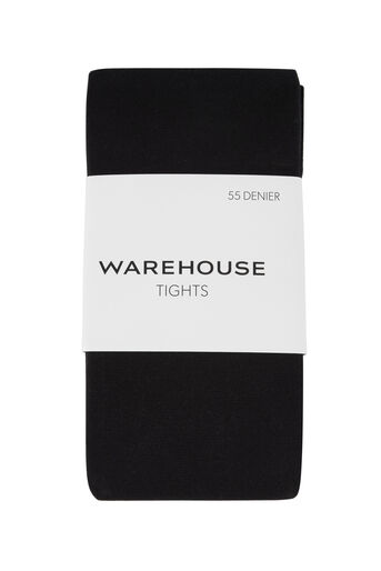 Warehouse, 55 denier panty Zwart 0