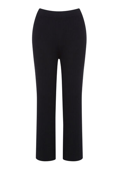 Warehouse, RIBBED TROUSERS Black 0