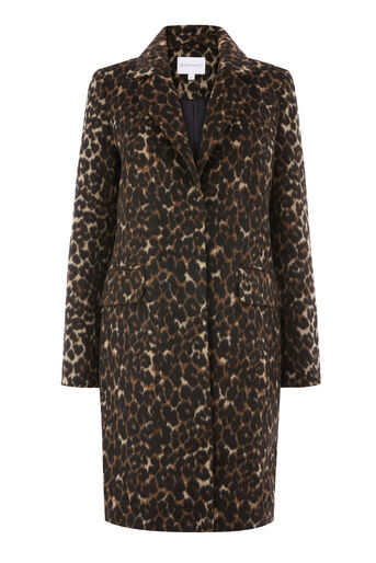 Warehouse, ANIMAL PRINT COAT Multi 0