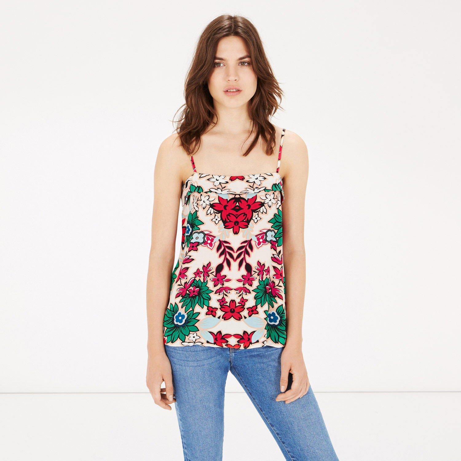 Warehouse, FLORAL PRINTED CAMI Multi 1
