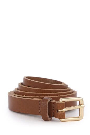 Warehouse, LEATHER BELT Tan 0
